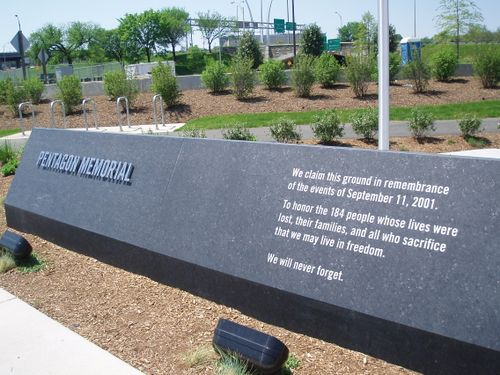 Framed Kalaine Pentagon Memorial 5