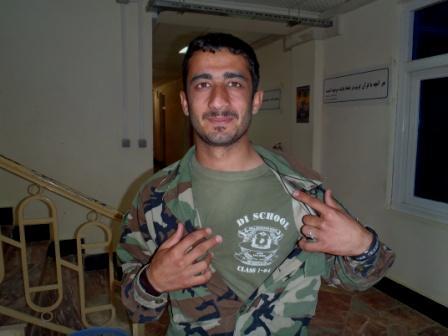Framed AfghaniDan COMMANDO six
