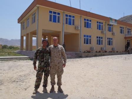 Framed AfghaniDan COMMANDO seven