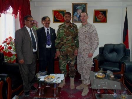 Framed AfghaniDan COMMANDO 4