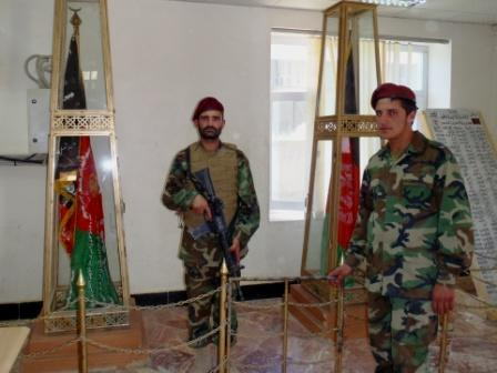 Framed AfghaniDan COMMANDO five