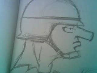 Doonesbury doodle