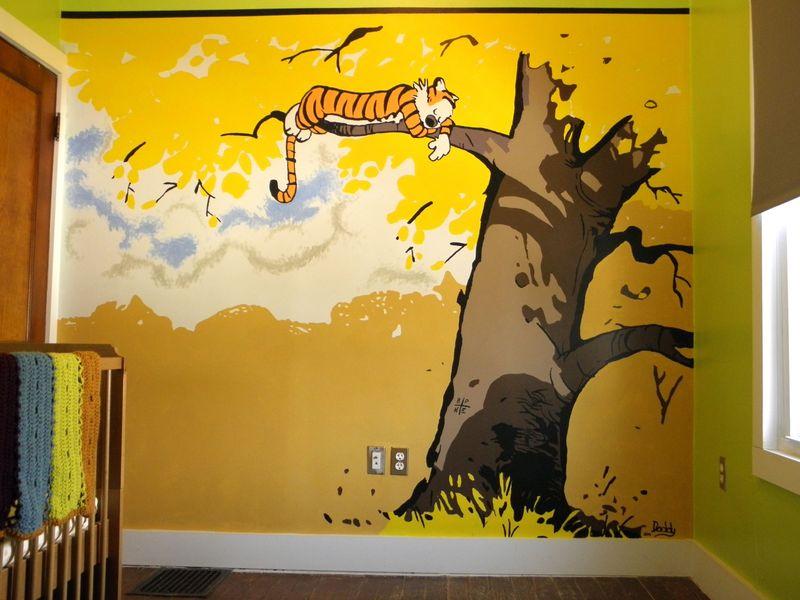 Calvin wall