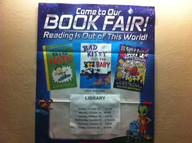 Big nate book fair