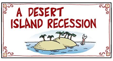 1099cbTEASER desert island recession