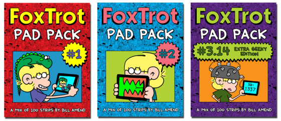 Foxtrot pad packs