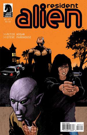 Resident Alien 3 cover