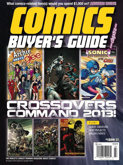 Comics Buyer's Guide 1699 cover