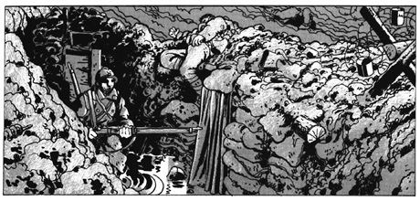 Jacques Tardi trenches