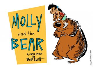 Molly and the Bear logo