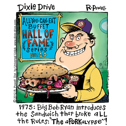 New Comic: Dixie Drive by Rich Powell on GoComics