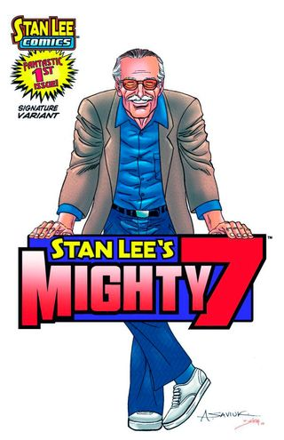 Mighty 7 1 cover