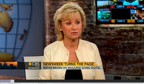 Tina Brown on TV