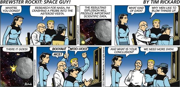 Comics: Brewster Rockit: Space Guy! by Tim Rickard on GoComics.com