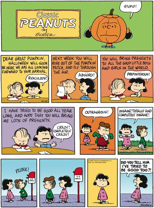 Peanuts on GoComics.com
