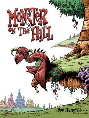 Monster on hill