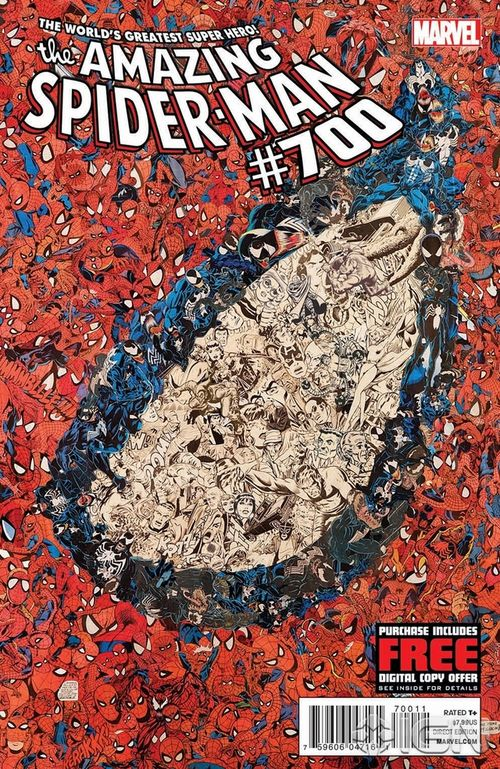 Amazing Spider Man 700 cover