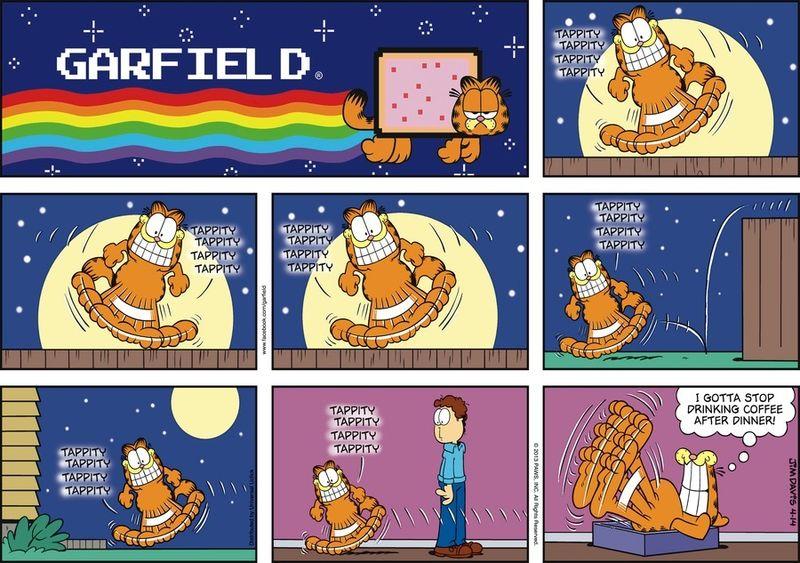 Garfield by Jim Davis