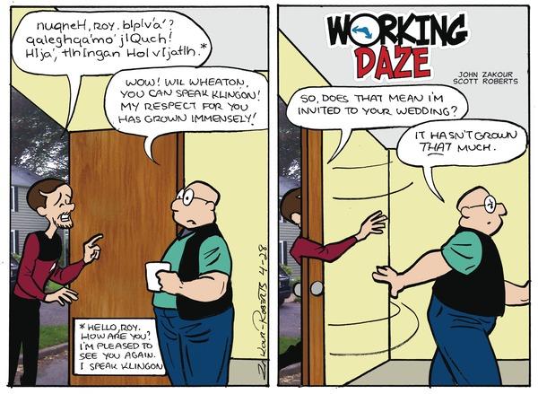 Working Daze by John Zakour and Scott Roberts
