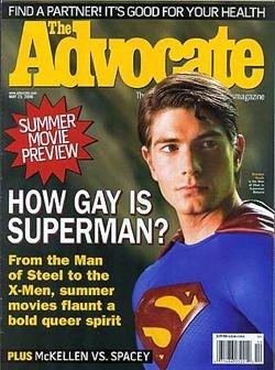 Advocate Superman cover