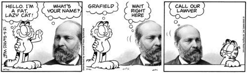 Garfield vs Garfield 25