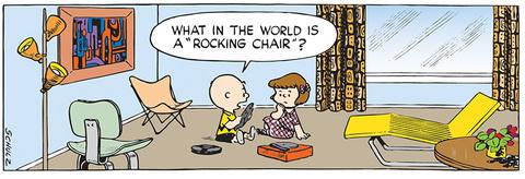Peanuts Mid-Century Modern strip