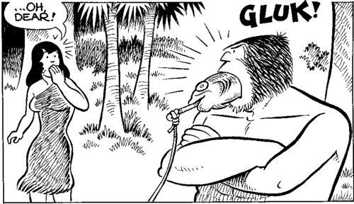Caveman Hair Pulling : The gocomics weekly giveaways comics news gossip