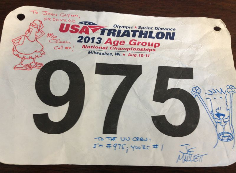 Frazz race bib