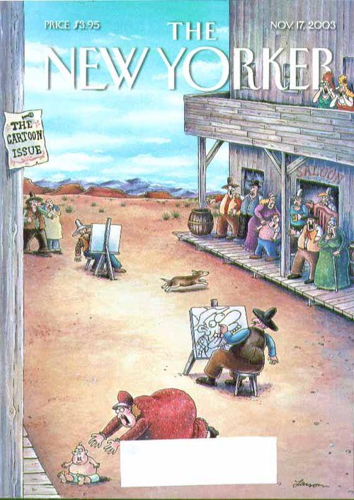Gary Larson NYer Cover 11-17-03
