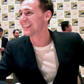 Tom Hiddleston at Comic-Con 2013