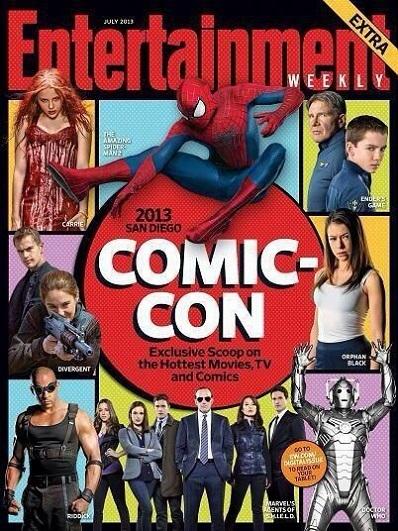 EW cover Comic-Con 2013