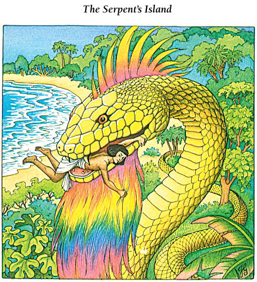 9 - Serpent's Island - Rainbow Snake