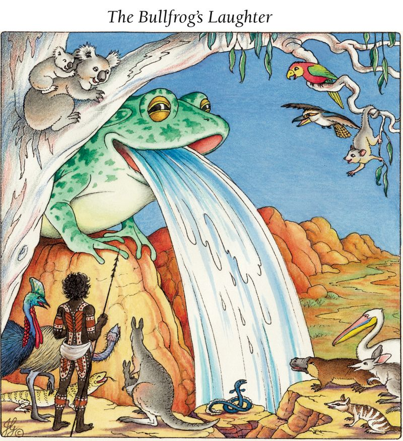 3 - Bullfrog Barfing a Waterfall - Bullfrog's Laughter