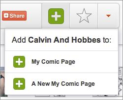 My-comics-page