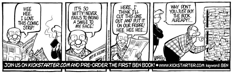 Ben comic strip daniel shelton