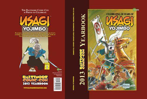 Usagi Yojimbo tribute cover