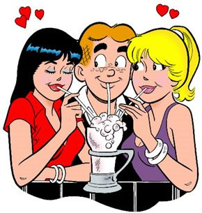 Veronica, Archie, Betty
