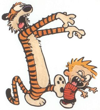 Calvin & Hobbes - Zombie