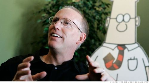 Scott Adams and Dilbert, from Fortune story