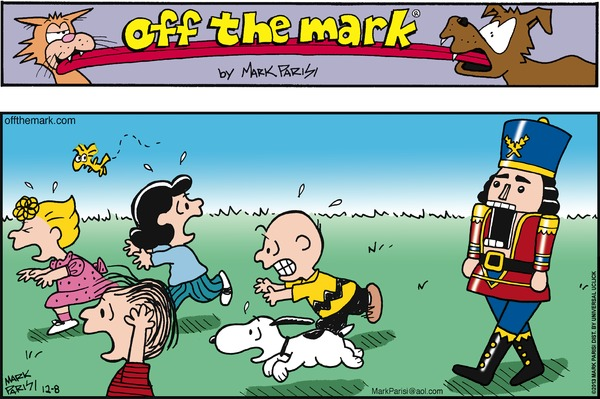 Off the Mark by Mark Parisi