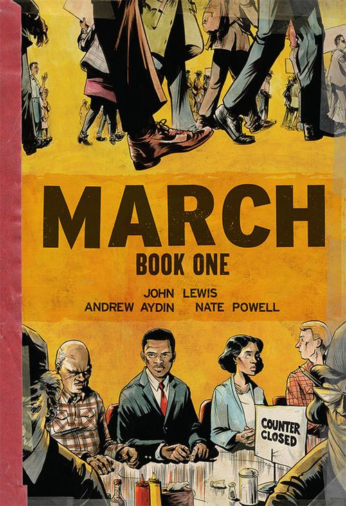 March - Book One cover