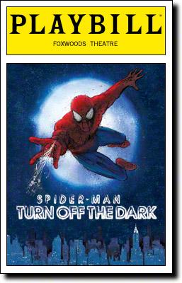 Turn Off The Dark Playbill
