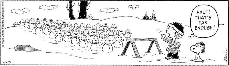 Pe981110 - snowmen halt