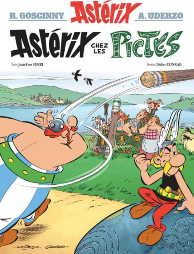 Asterix and the Picts cover