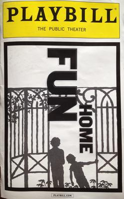 Fun Home Playbill