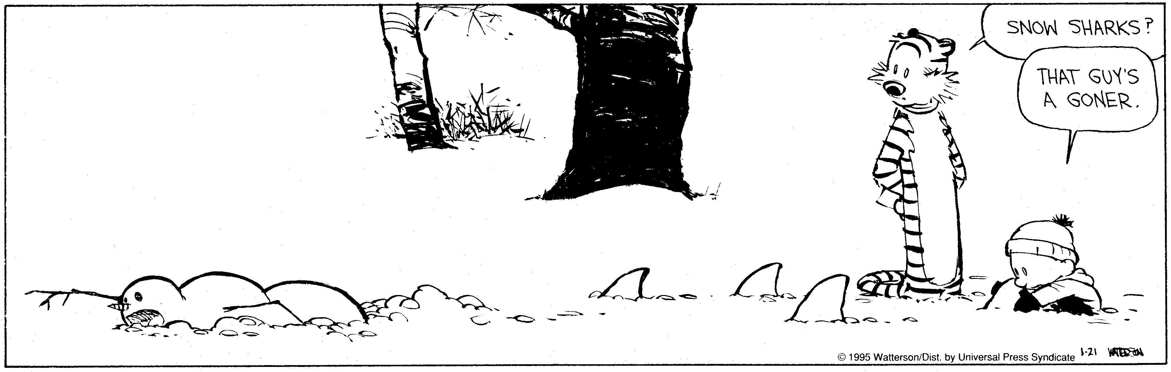 existentialism in bill wattersons comic strips essay
