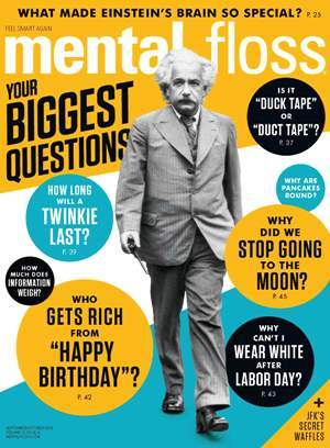 Mental floss cover
