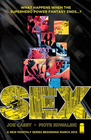 Sex comic book cover