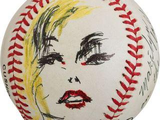 Neiman baseball Marilyn Monroe