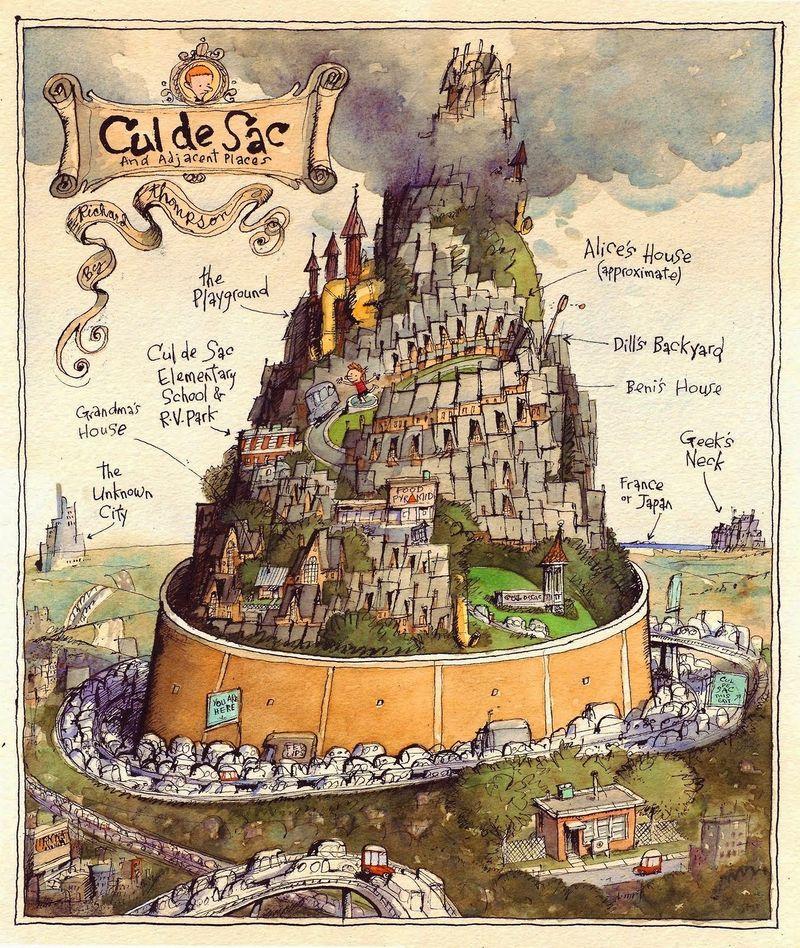 Cul De Sac Map